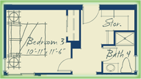 2502 3rd Bedroom Option